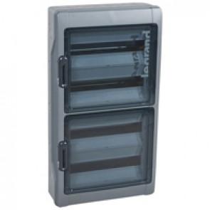 Cabinets PLEXO³ - IP65 - IK09 - 4 rows - 18 modules