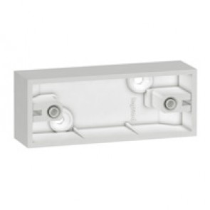 Surface mounting box - BS standard - architrave - depth 35 mm