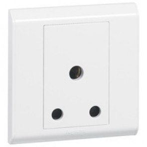 BS socket outlet Belanko - 1 gang unswitched - 15 A 250 V~
