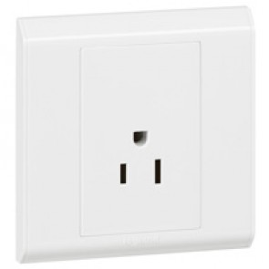 US socket outlet Belanko - 1 gang - 2P+E - 15 A - 127 V~