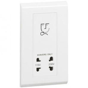 Shaver socket Belanko - 115/230 V - 2 gang