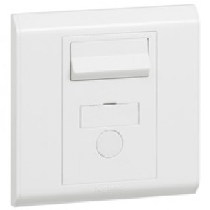 Fused connection unit Belanko - switched + neon + cord outlet - 13 A