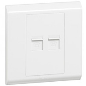 Telephone socket Belanko - double RJ 11 socket