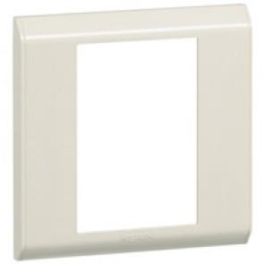 Cover plate Belanko - 1 gang - vertical beige