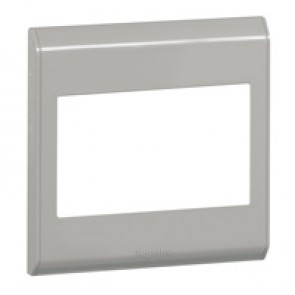 Cover plate Belanko - 1 gang - horizontal taupe