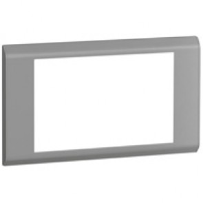 Cover plate Belanko - 2 gang - horizontal taupe