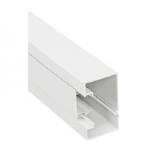 Rigid cover DLP-S snap-on trunking 85x50 mm - 45 mm cover - 1-compartment - supplied in 10 units of 2 m length