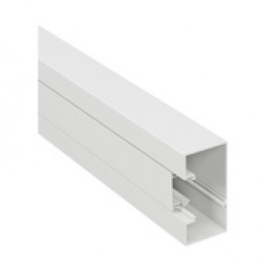 Rigid cover DLP-S snap-on trunking 100x50 mm - 45 mm cover - 1-compartment - supplied in 8 units of 2 m length
