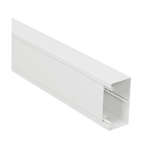 Rigid cover DLP-S universal trunking 100x50 mm - 75 mm cover - 1-compartment - supplied in 6 units of 2 m length