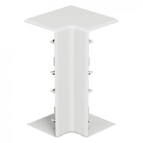 Fixed internal angle at 90° for rigid cover DLP-S snap-on trunking 130x50 mm
