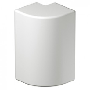 Fixed external angle at 90° for rigid cover DLP-S snap-on trunking 130x50 mm