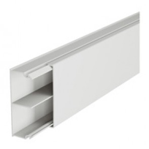 Distribution mini-trunking 50 x 20 mm - with central partition - 2 m length