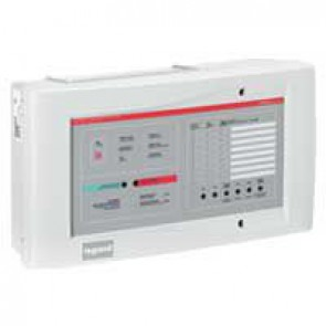 8-zone Salvena panel - Fire detection and alarm