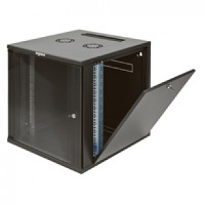 """Linkeo fix 19"""" cabinet with removable side panels - capacity 12U - dimensions 604x600x600 mm - ready-assembled"""