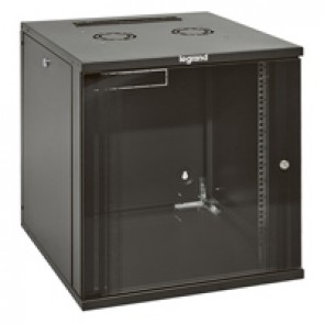 "Linkeo fix 19"" cabinet with removable side panels - capacity 15U - dimensions 738x600x600 mm - ready-assembled"