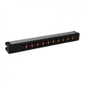 "19"" PDU LCS³ - 1 U - 10 x C13 - IEC 60320 standard"