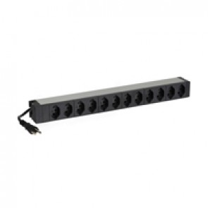 """LCS³ 19"""" PDU basic swiss standard 12 x T23 with 3 power supply cord"""