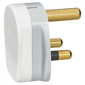British standard plug - 2P+E - 15 A 250 V~ - without CE marking