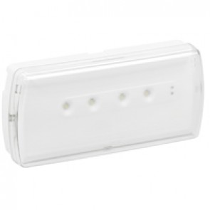 Emergency luminaire U21 - standard maintained / non maintained - 350 lm - 1h - LED