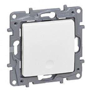 Radio switch Niloé - control unit - transmitter single switch - white