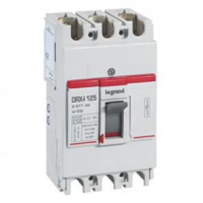 DRX-I 125 trip-free switch for on-load circuit breaking and isolation of low voltage electrical circuits - 3P - 125 A