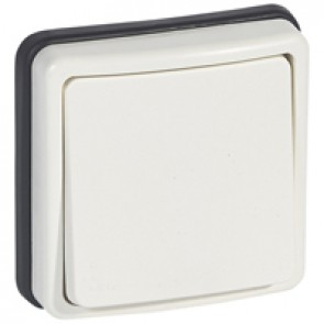 Push-button Plexo 66 - 1 gang - 2 way - 6 A 250 V~ - flush mounting
