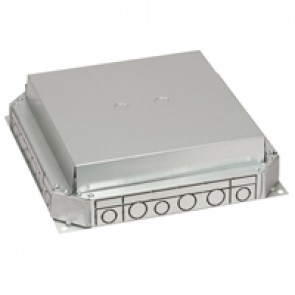 Screed floor backbox - for ducting up to 225 mm - 3 compartments