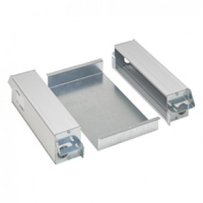 Kit of 2 vertical supports for Arteor/Mosaic mechanism for 8 modules
