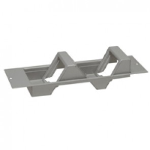 Waved support plate for Arteor mechanism for 4 modules - 2 x 2 modules
