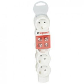 Standard multi-outlet extension - 5x2P+E - without cord