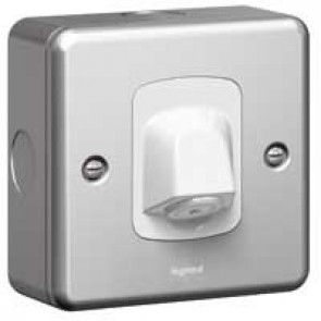 Cable outlet Synergy - with terminal block - 20 A 250 V~ - metalclad