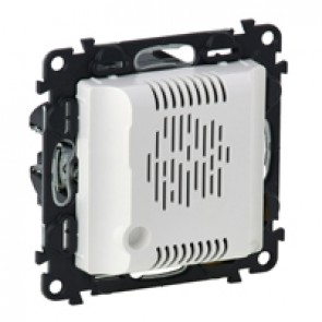 Technical alarm power supply Valena Life - input 230 V~ - output 12 V~ - white
