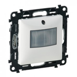 Motion sensor with neutral Valena Life - with cover plate - white