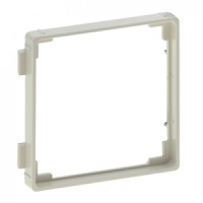 Adaptor for 50 x 50 mm mechanisms Valena Life - DIN 49075 - ivory