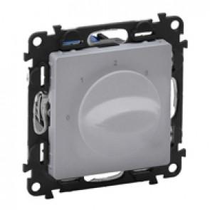Ventilation control switch Valena Life - aluminium