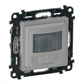 Cover plate Valena Life - motion sensor with override - with mechanism - alu