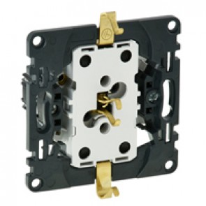 2 x 2P+E socket with shutters Valena In'Matic - German standard - 16 A 250 V~