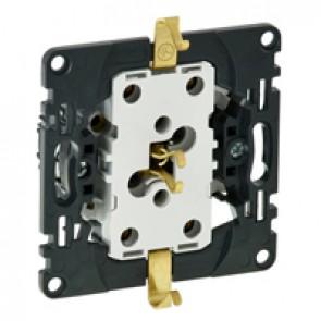 2 x 2P+E socket Valena In'Matic - German standard - 16 A 250 V~