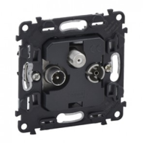 Star architecture TV-R-SAT socket Valena In'Matic