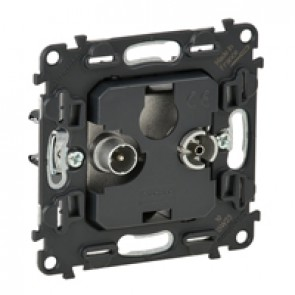 Passthrough TV-R socket Valena In'Matic