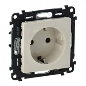 2P+E socket Valena Life - German standard - VDE compliant - 16 A 250 V~ - ivory