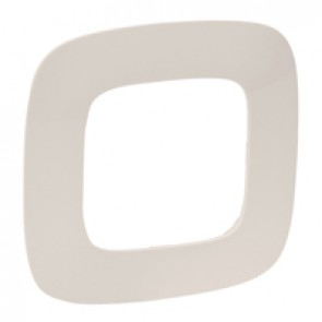 Plate Valena Allure - 1 gang - ivory