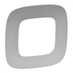 Plate Valena Allure - 1 gang - aluminium
