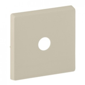 Cover plate Valena Life - energy saving switch - ivory