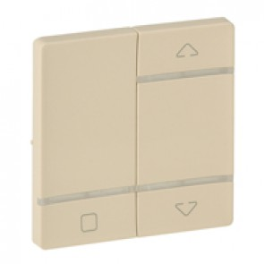 Cover plate for radio control roller blind switch Valena Life - ivory