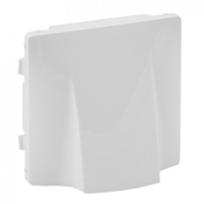 Cover plate Valena Life - cable outlet - white
