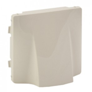 Cover plate Valena Life - cable outlet - ivory