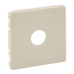 "Cover plate Valena Life - male/""F"" type TV socket - ivory"