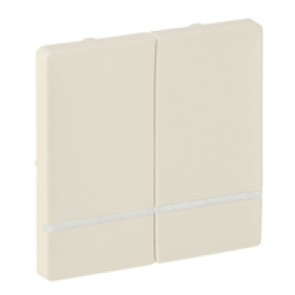 Cover plate for wireless switch Valena Life - 2 circuits - ivory