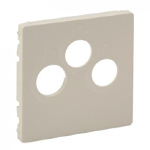 Cover plate Valena Life - TV-R-SAT socket - ivory